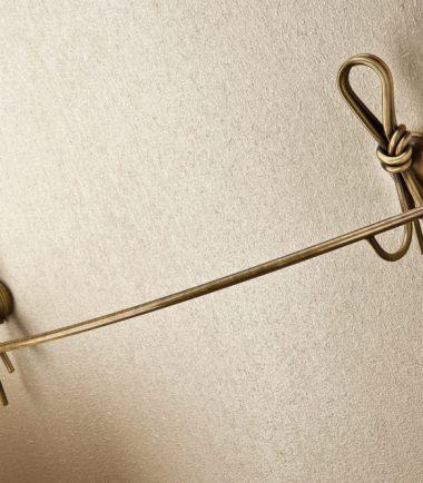 1859/63 salviette nodo bronzo