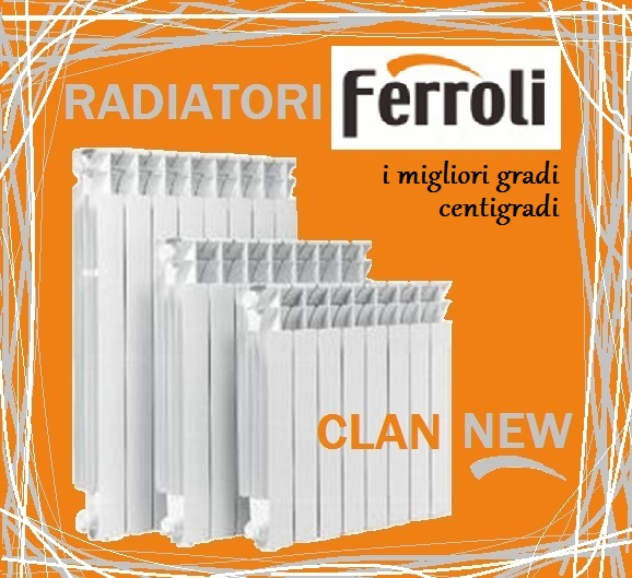 Termosifoni alluminio prezzi perfect elemento liberty col for Radiatori leroy merlin