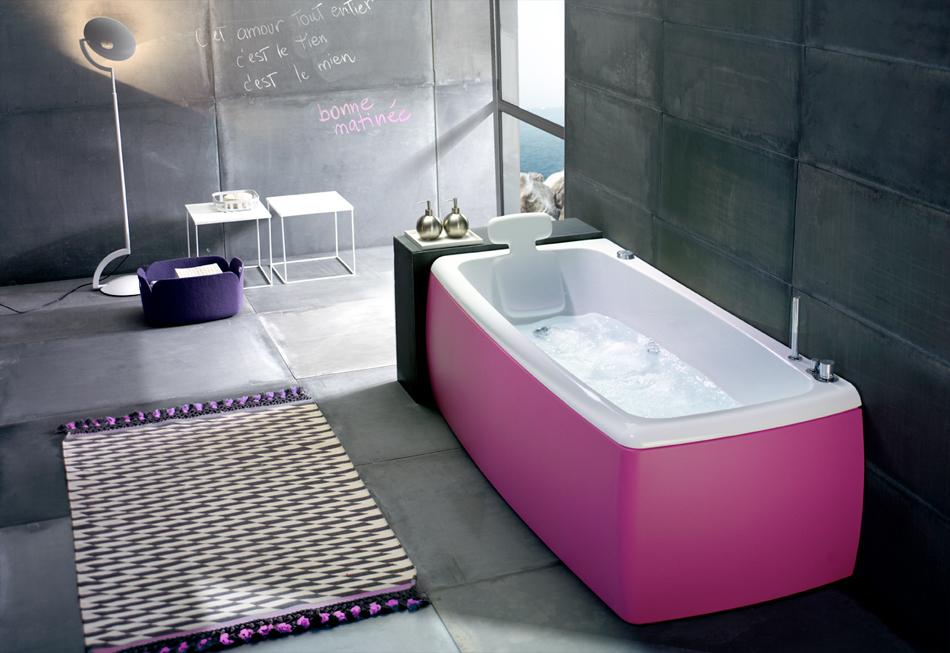 Bagno Con Idromassaggio Parquet Ed Archi Interior Design : Lucky color vasca ceramiche addeo