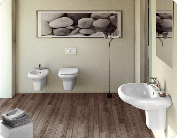 Tesi classic ceramiche addeo for Sanitari bagno ideal standard