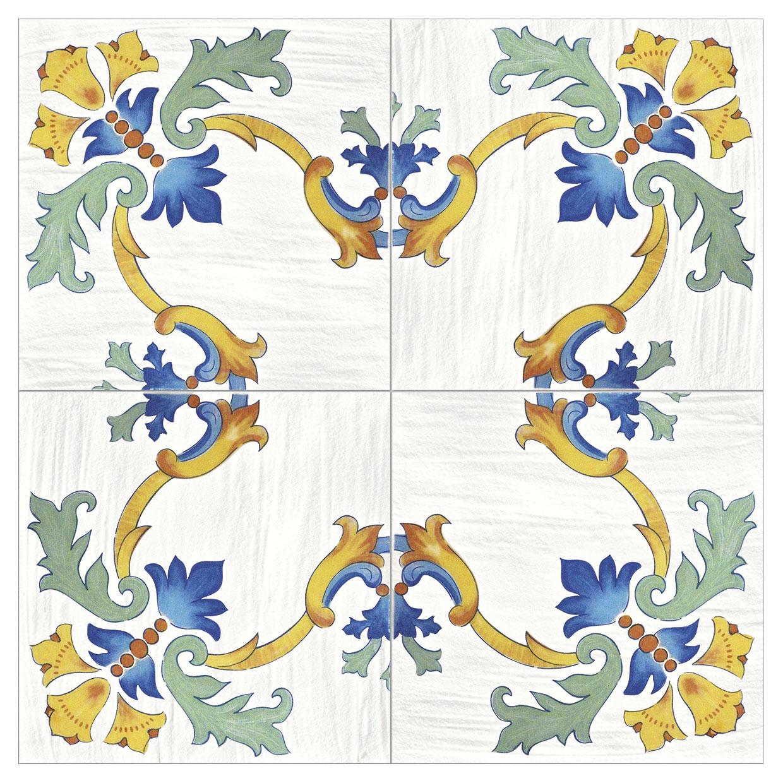 Cotto mediterraneo ceramiche addeo - Decori per pavimenti ...