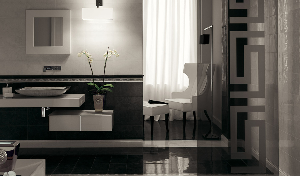 Piastrelle bagno nere. perfect palace living with piastrelle bagno