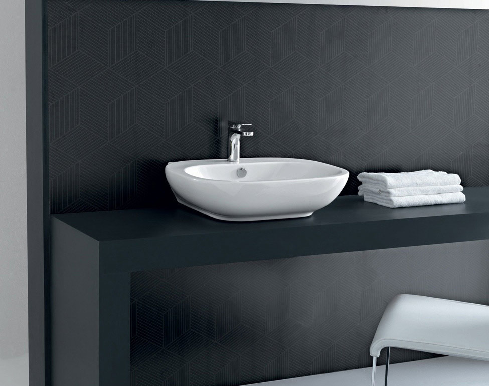 Mobili bagno lavabo da appoggio design casa creativa e for Arredo bagno lavabo sospeso