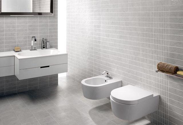 Bagno piastrelle grigie piastrelle per bagno pavimenti in ceramica