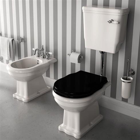 Hermitage cassetta alta a zaino ceramiche addeo for Arredo bagno anni 50