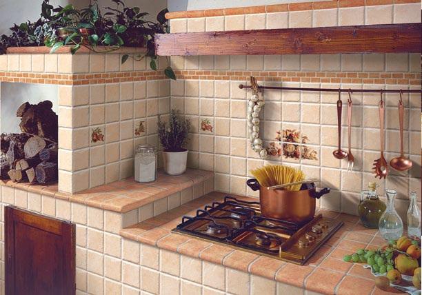 10 10 i ciottoli ceramiche addeo - Piastrelle cucina rosse ...