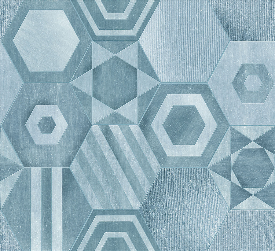 Gioco a due hexagons ceramiche addeo - Aderisce alle piastrelle ...