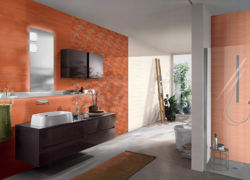 Wake up u arancio ceramiche addeo
