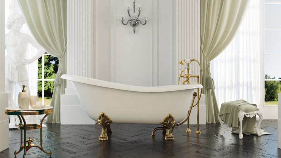 Vasca Da Bagno Su Pietre E Parquet Interior Design : Cassiopea vasca rettangolare ceramiche addeo