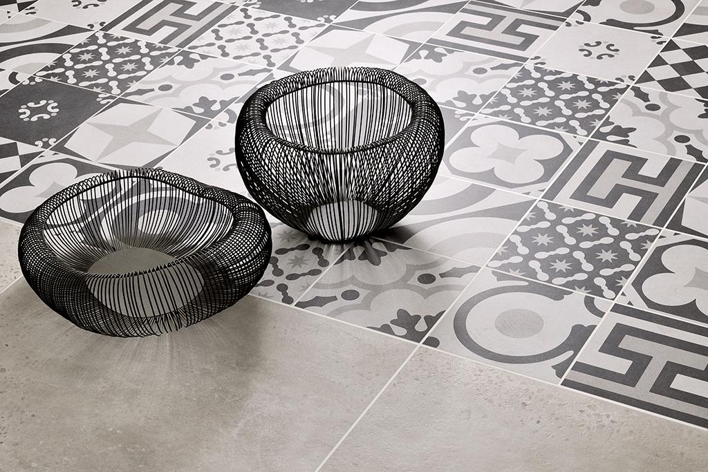Cementine black&white ceramiche addeo