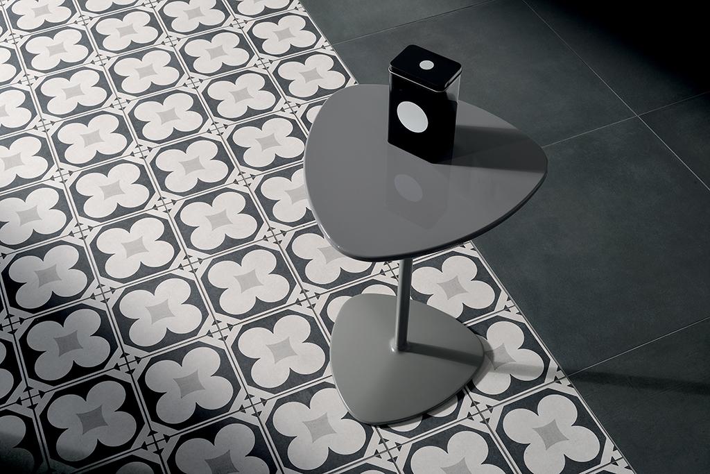 Cementine black white ceramiche addeo
