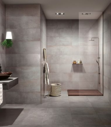 love tiles metallic steel