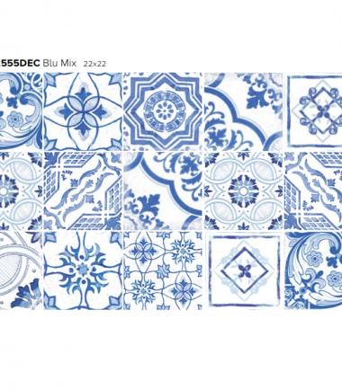 savoia decoro blu mix