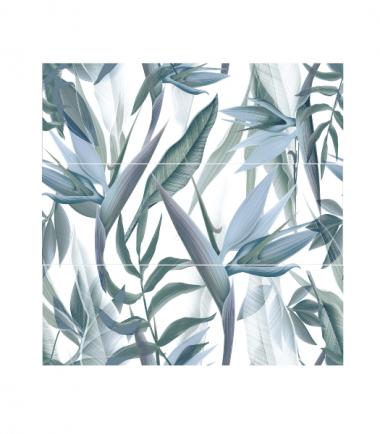 decoro floral acqua savoia